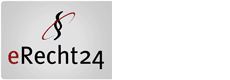 erecht24 Siegel weiss datenschutz klein